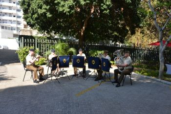 Brass Quintet at British High Commission Maputo