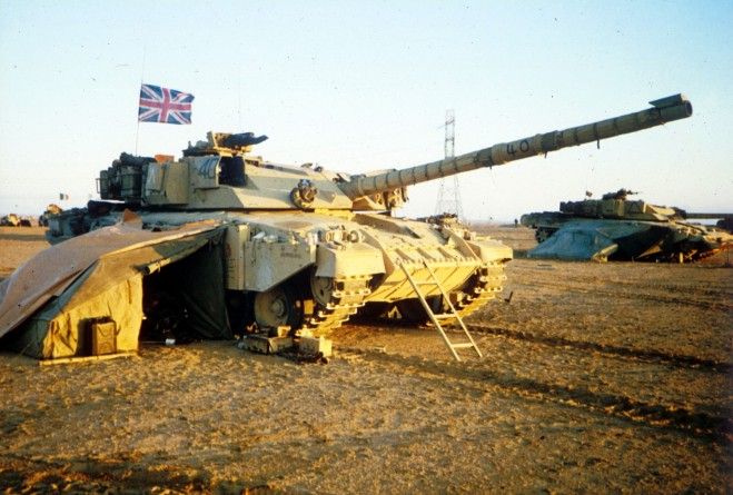 After the battle. No cam nets needed now either for camouflage or for protection against the sun. You can see my specially made tank ladder leaning against the ERA on the front glacis plate of the tank.