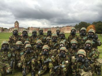 47 Platoon at the 'CBRN Olympic Games'
